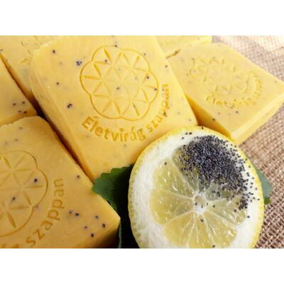Életvirág Citromos-Mákos szappan 100 g