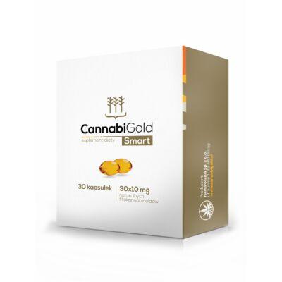 CannabiGold Smart 30*10 mg CBD kapszula