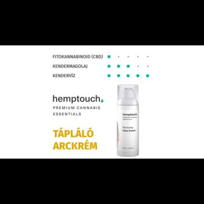Hemptouch Tápláló Arckrém 50ml